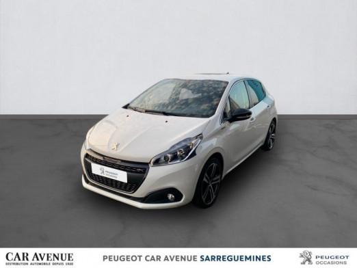 Occasion PEUGEOT 208 1.2 PureTech 110ch E6.c GT Line S&S EAT6 5p 2019 Blanc 15523 € à Sarreguemines