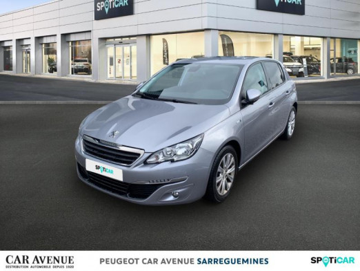 Used PEUGEOT 308 1.6 BlueHDi 100ch Style S&S 5p 2017 Gris Artense € 13,298 in Sarreguemines