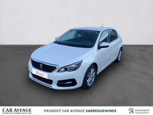 Used PEUGEOT 308 1.5 BlueHDi 100ch E6.c S&S Active 2018 Blanche € 10,856 in Sarreguemines