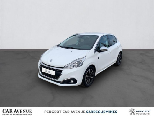 Used PEUGEOT 208 1.2 PureTech 110ch Tech Edition S&S 5p 2019 Blanc Banquise € 14,840 in Sarreguemines