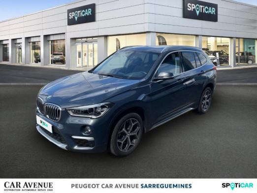 Occasion BMW X1 sDrive18iA 140ch xLine DKG7 2018 Atlanticgrau 27866 € à Sarreguemines