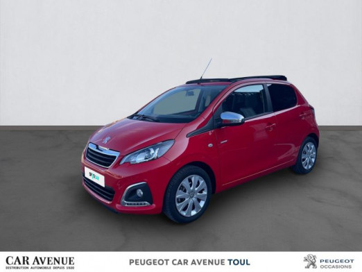 Used PEUGEOT 108 VTi 72 Top! Style S&S 4cv 5p 2021 Rouge Scarlet € 14,495 in Toul