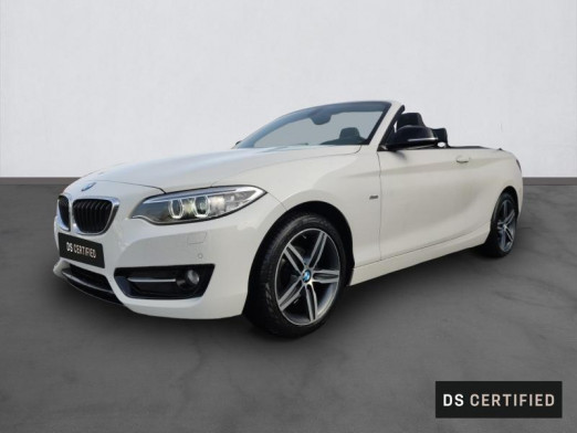 Occasion BMW Série 2 Cabriolet 218d 150ch Sport 2017 Alpinweiss 27980 € à Metz Borny