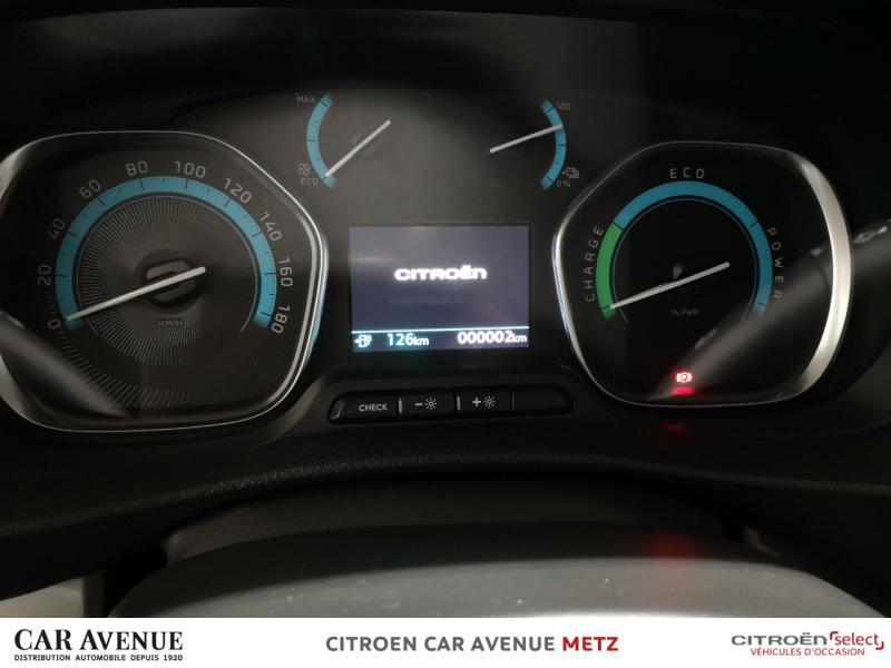 Occasion CITROEN SpaceTourer M 100% ëlectric 100 kW (136 ch) Feel Batterie 50 kWh 2021 Gris Platinium (M) 48490 € à Metz Borny