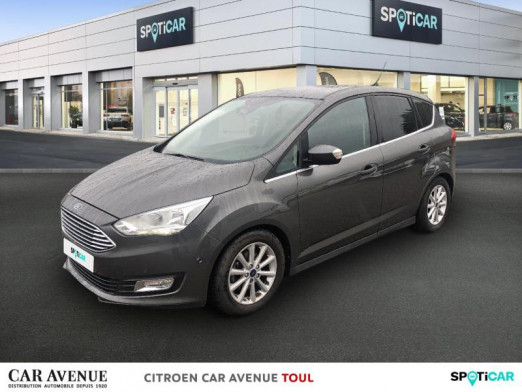 Used FORD C-MAX 1.5 TDCi 95ch Stop&Start Titanium 2016 Gris Magnetic € 12,790 in Toul