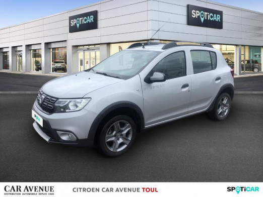 Used DACIA Sandero 0.9 TCe 90ch Stepway 2017 Gris Platine € 9,790 in Toul
