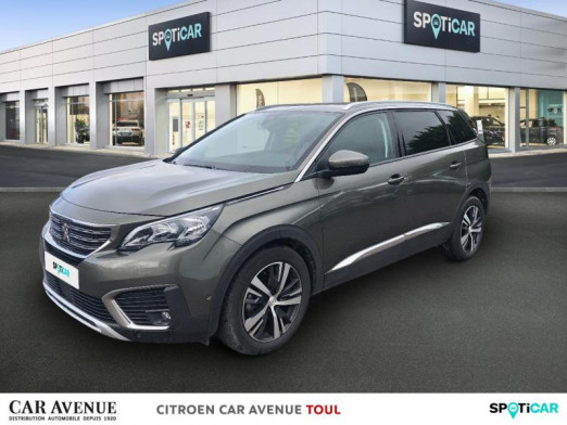 Used PEUGEOT 5008 1.6 BlueHDi 120ch Allure S&S EAT6 2018 Gris Amazonite (M) € 23,990 in Toul