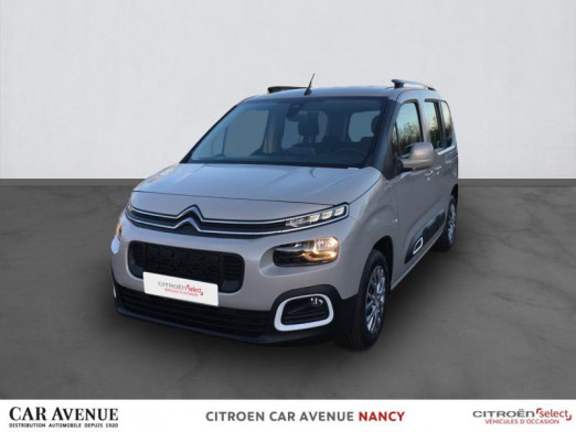 Occasion CITROEN Berlingo M BlueHDi 100ch Feel 2019 Sable (N) 19 490 € à Nancy