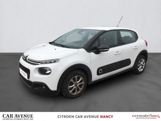 Occasion CITROEN C3 BlueHDi 100ch Feel Business S&S 2017 Blanc Banquise 9 490 € à Nancy