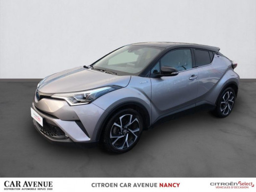 Occasion TOYOTA C-HR 122h Graphic 2WD E-CVT 2018 Gris clair 19 990 € à Nancy