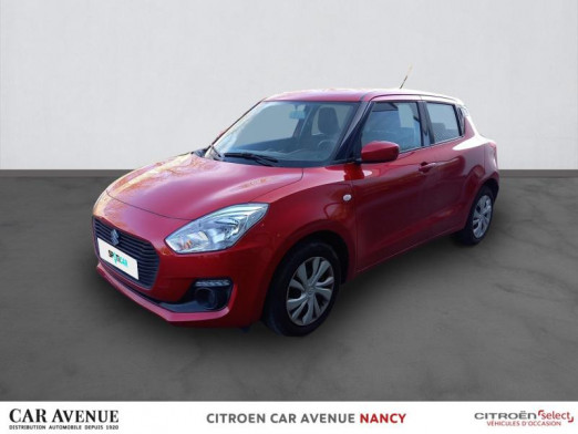Occasion SUZUKI Swift 1.2 Dualjet 90ch Avantage 2019 Pure White Pearl 12 390 € à Nancy