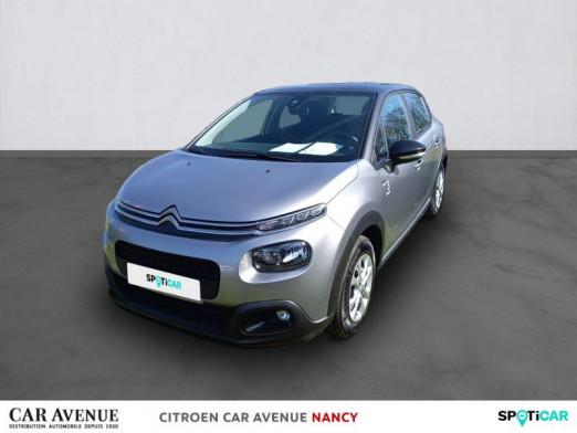 Used CITROEN C3 1.2 PureTech 110ch S&S Graphic 2021 Gris Acier (M) - Noir Onyx € 16,290 in Nancy