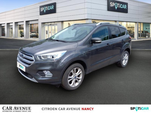 Used FORD Kuga 1.5 TDCi 120ch Stop&Start Titanium 4x2 2017 Gris € 15,990 in Nancy