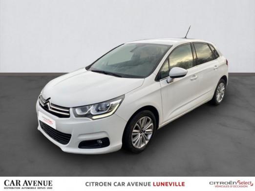 Occasion CITROEN C4 BlueHDi 100ch Millenium 2016 Blanc Banquise (O) 10750 € à Lunéville