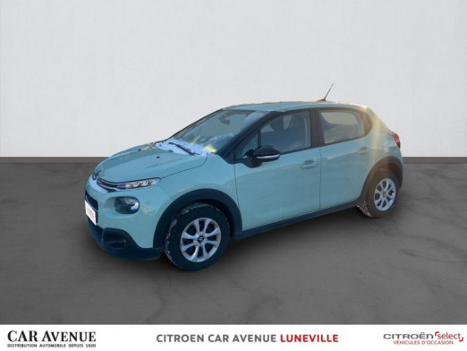 Occasion CITROEN C3 PureTech 82ch Feel S&S E6.d 2019 Almond Green 12390 € à Lunéville