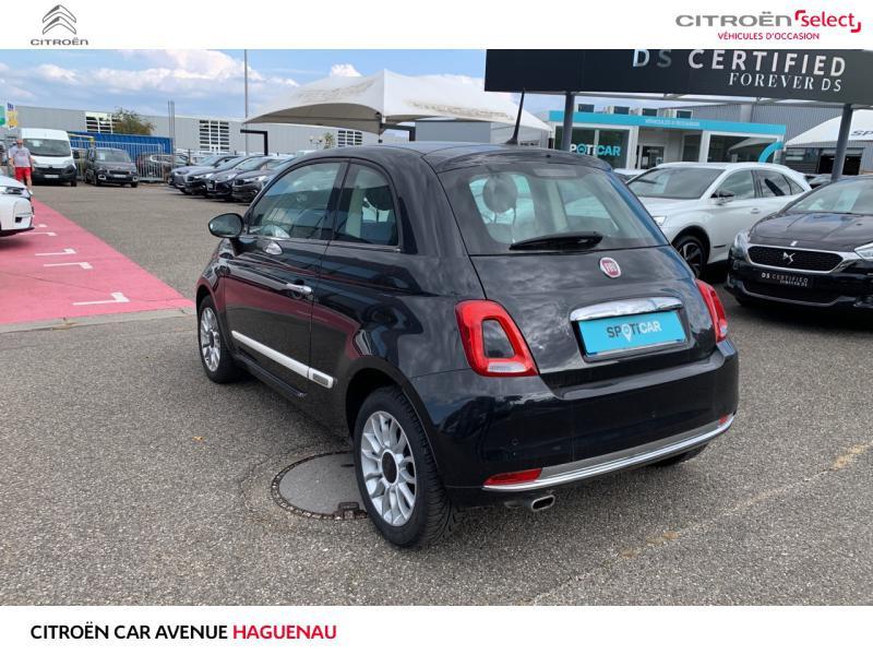 Occasion FIAT 500 ESSENCE 69 CV Bianco Amore Edizione GARANTIE 12 MOIS 2017 Noir 10490 € à Haguenau