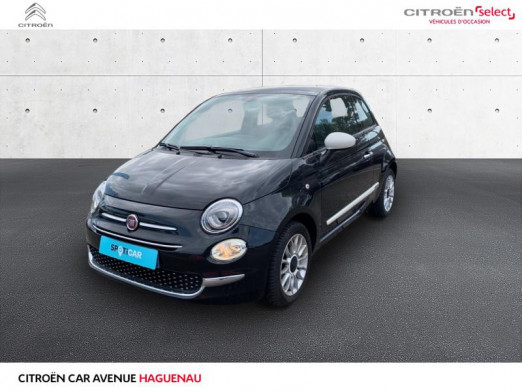 Occasion FIAT 500 ESSENCE 69 CV Bianco Amore Edizione GARANTIE 12 MOIS 2017 Noir 10575 € à Haguenau