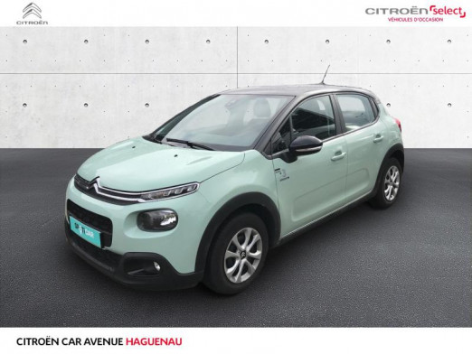 Occasion CITROEN C3 ESSENCE 82 CV Graphic CAR PLAY 2019 Almond Green - Noir Onyx 13 980 € à Haguenau