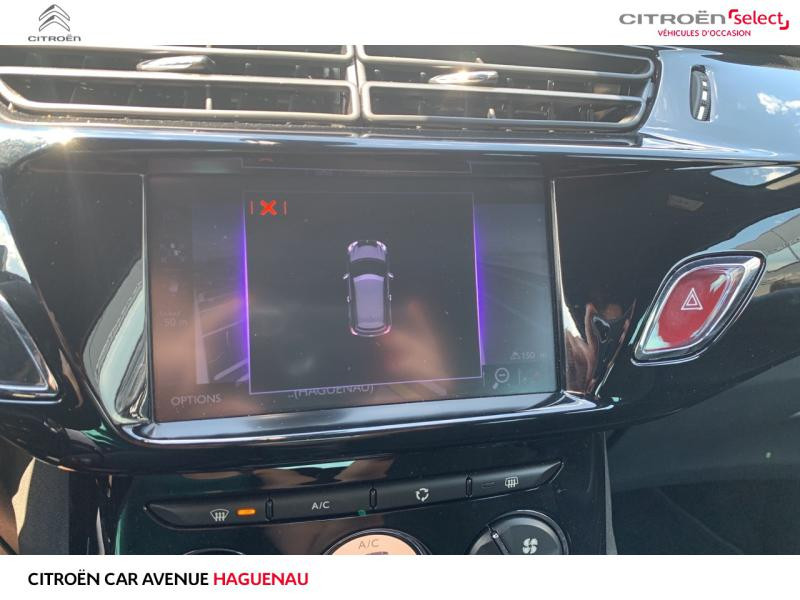 Occasion DS DS 3 ESSENCE 110 CV So Chic BOITE AUTOMATIQUE 2018 Noir Perla Nera (N) - Toit Blanc Opale 14990 € à Haguenau