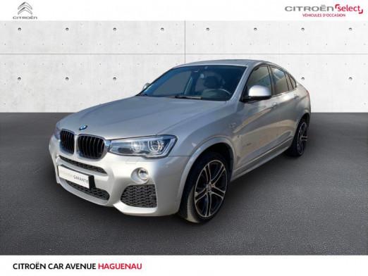 Occasion BMW X4 DIESEL 313 CV M Sport GPS HARMAN CARDON 2016 Glaciersilber 39680 € à Haguenau