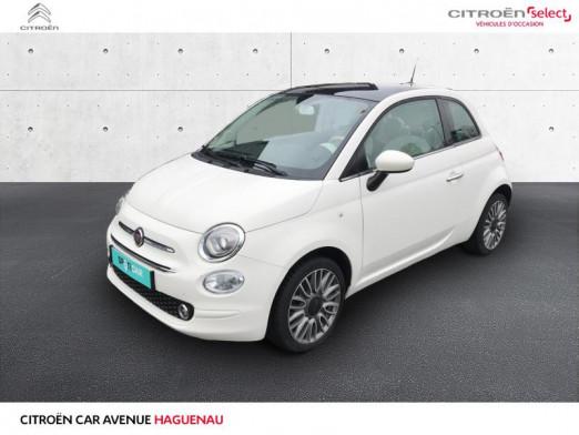 Occasion FIAT 500 ESSENCE 69 CV Lounge CLIM AUTO 2018 Coloris Perlé tri-couche Ice White 10990 € à Haguenau