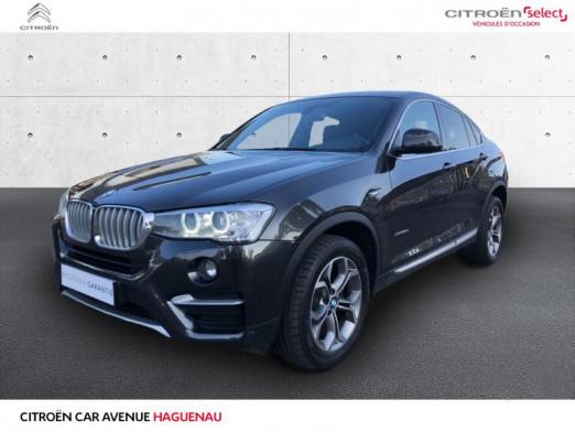 Occasion BMW X4 DIESEL 258 CV xLine BOITE AUTOMATIQUE 2016 Attente 31180 € à Haguenau