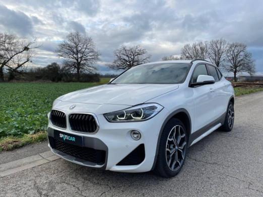 Occasion BMW X2 ESSENCE 192 CV M Sport BOITE AUTOMATIQUE 2018 Blanc 33888 € à Haguenau