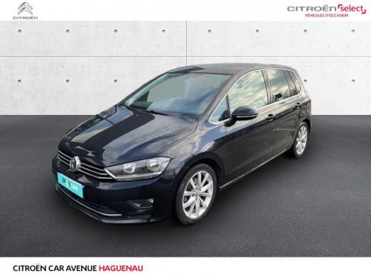 Occasion VOLKSWAGEN Golf Sportsvan ESSENCE 125 CV Carat BOITE AUTOMATIQUE GPS 2015 Noir Intense 14900 € à Haguenau