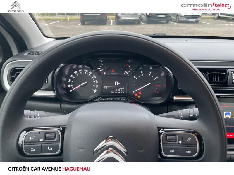 Occasion CITROEN C3 ESSENCE 82 CV Graphic CAR PLAY GARANTIE 12 MOIS 2019 Blanc Banquise - Rouge Aden 13290 € à Haguenau