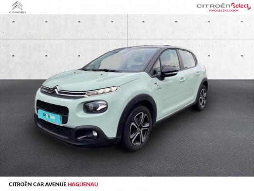 Occasion CITROEN C3 ESSENCE 82 CV Graphic CAR PLAY GARANTIE 12 MOIS 2019 Almond Green - Noir Onyx 13490 € à Haguenau