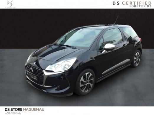 Occasion DS DS 3 DIESEL 100 CV So Chic GPS 2018 Noir Perla Nera (N) 12190 € à Haguenau