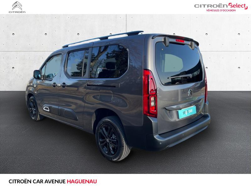 Occasion CITROEN Berlingo XL ESSENCE 130 CV Shine BOITE AUTOMATIQUE GPS CAR PLAY 2020 Gris Platinium (M) 27990 € à Haguenau