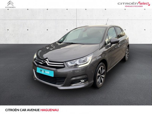 Occasion CITROEN C4 ESSENCE 110 CV Millenium CAR PLAY 2018 Gris Platinium (M) 13900 € à Haguenau