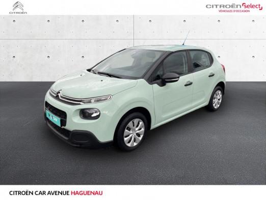 Occasion CITROEN C3 BlueHDi 75ch Live S&S 2017 Almond Green 10790 € à Haguenau