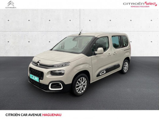 Occasion CITROEN Berlingo M DIESEL 100 CV Feel GPS CAR PLAY 2020 Sable (N) 20 890 € à Haguenau