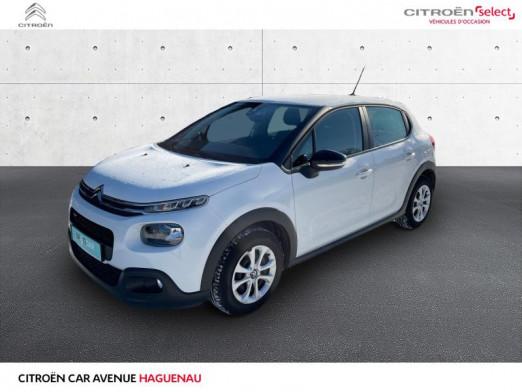Occasion CITROEN C3 PureTech 68ch Feel 2017 Blanc Banquise 10985 € à Haguenau
