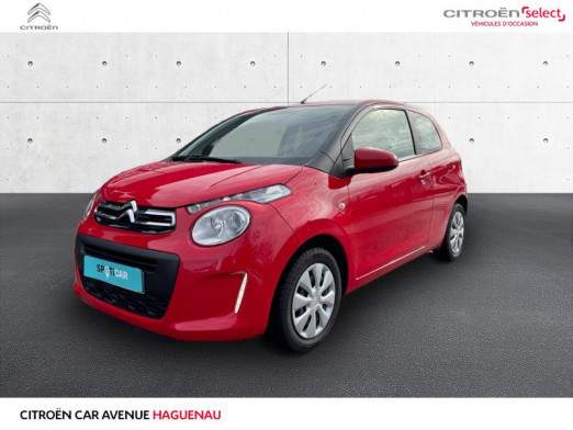 Occasion CITROEN C1 VTi 68 Feel 3p 2015 Gris Carlinite (M) 7 400 € à Haguenau