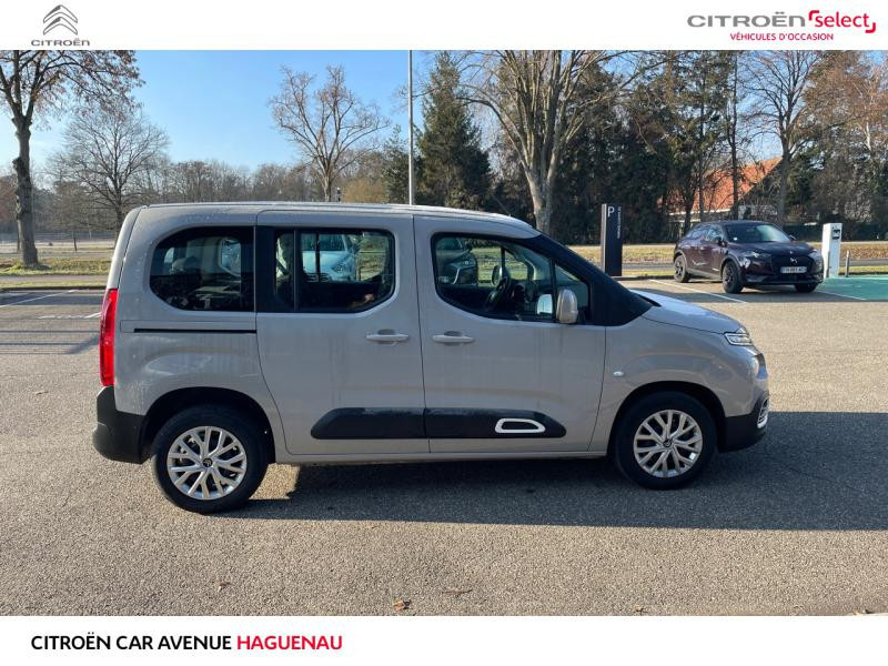 Occasion CITROEN Berlingo M DIESEL 130 CV Feel GPS CAR PLAY 2020 Sable (N) 24490 € à Haguenau