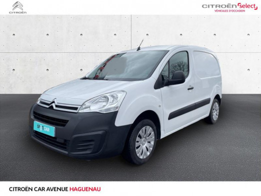 Occasion CITROEN Berlingo M 1.6 BlueHDi 75 Business 2018 Blanc 13 240 € à Haguenau