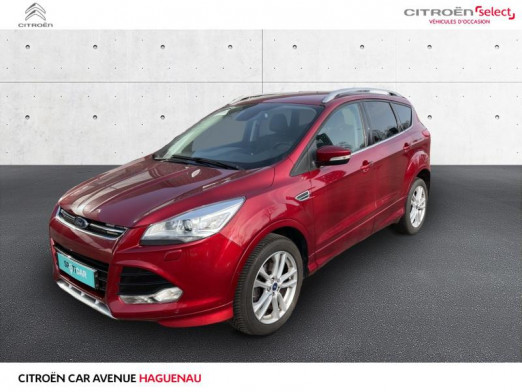 Occasion FORD Kuga 1.5 EcoBoost 150ch Stop&Start Sport Platinium 2016 Rouge Racing 15750 € à Haguenau