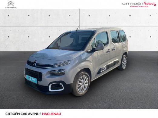 Occasion CITROEN Berlingo M DIESEL 130 CV Feel GPS CAR PLAY 2020 Sable (N) 24 450 € à Haguenau