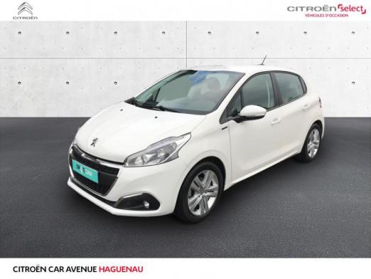 Occasion PEUGEOT 208 ESSENCE 82 CV Signature 5p CAR PLAY CAMERA DE RECUL 2019 Blanc Banquise 12995 € à Haguenau