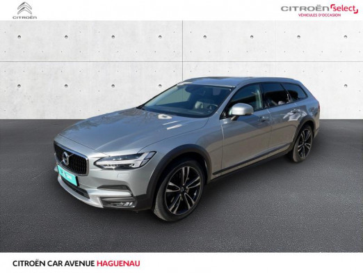 Used VOLVO V90 Cross Country D4 AWD 190ch Pro Geartronic 2017 Blanc € 33,400 in Haguenau