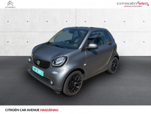 Used SMART Fortwo Cabriolet 90ch prime twinamic E6c 2018 tridion gris mat/argent cool silver met € 17,490 in Haguenau