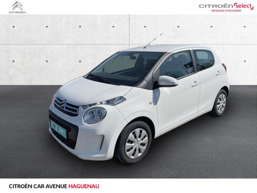 Used CITROEN C1 VTi 72 Feel 5p 2019 Blanc Lipizan (O) € 9,950 in Haguenau