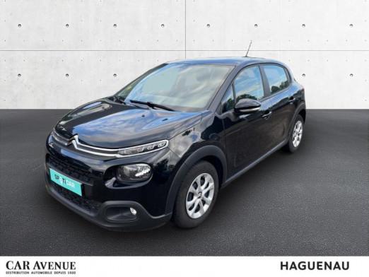 Used CITROEN C3 BlueHDi 100ch Feel S&S 2018 Noir Perla Nera € 11,990 in Haguenau