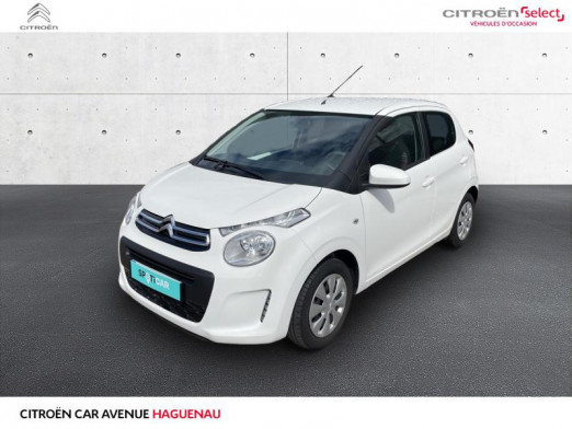 Occasion CITROEN C1 VTi 68 Feel 5p 2018 Blanc Lipizan (O) 9900 € à Haguenau