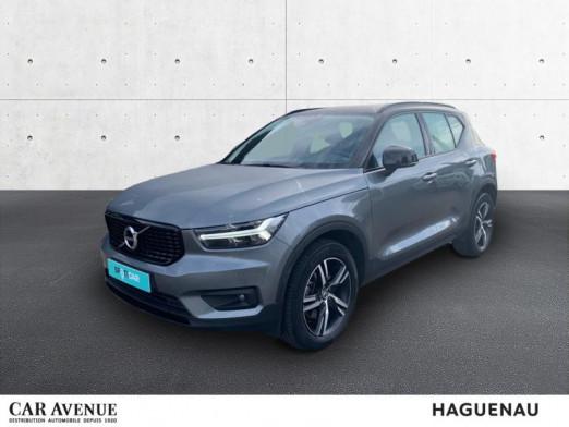 Occasion VOLVO XC40 D4 AdBlue AWD 190ch R-Design Geartronic 8 2019 Gris Tonnerre 35900 € à Haguenau