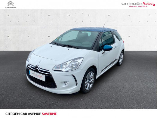 Occasion DS DS 3 BlueHDi 100ch Be Chic S&S 2015 Blanc Banquise (O) 10900 € à Saverne
