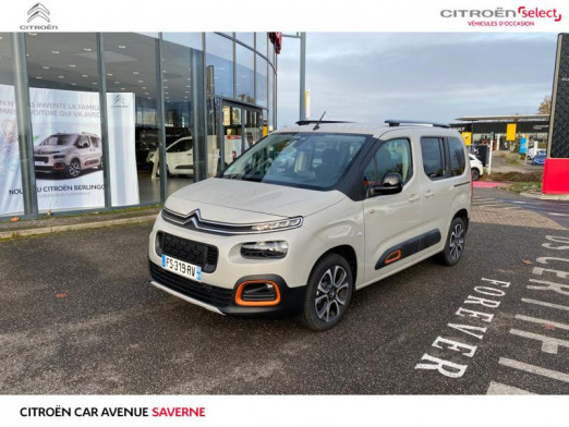 Occasion CITROEN Berlingo M BlueHDi 130ch S&S Shine EAT8 2020 Sable (N) 28 500 € à Saverne